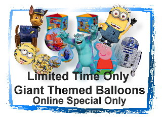 Giant Themed Balloons