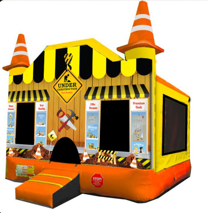 Construction Bounce House Rental