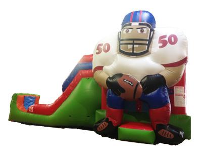 Football Water Slide Combo