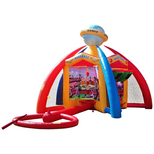 Five Sports Games In One Inflatable In Louisville Ky