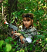 Laser tag gun with headband