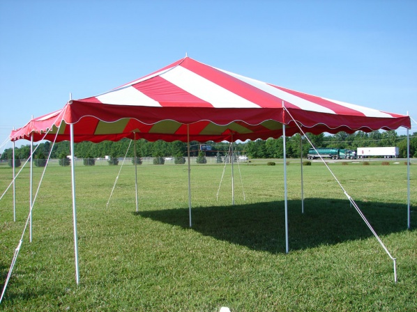 20 by 20 Grass Tent