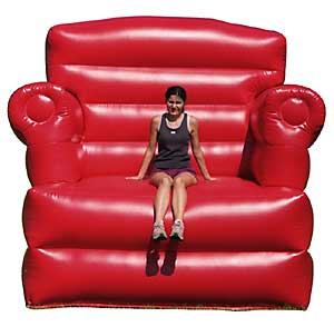 Big Red Chair